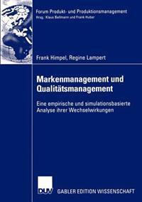 Markenmanagement Und Qualitatsmanagement