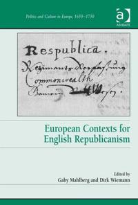 European Contexts for English Republicanism