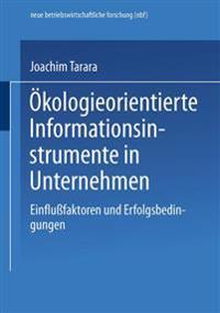 Ökologieorientierte Informationsinstrumente in Unternehmen