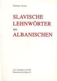 Slavische Lehnwoerter Im Albanischen