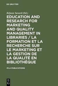 International Federation of Library Associations, Ifla, Publications Series