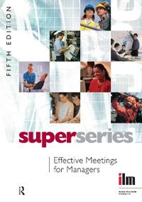 Effective Meetings for Managers