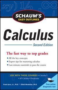 Schaum's Easy Outline Calculus