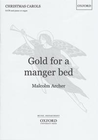 Gold for a Manger Bed