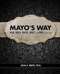 Mayo's Way: Who, When, Where, What, and Why Comes Last