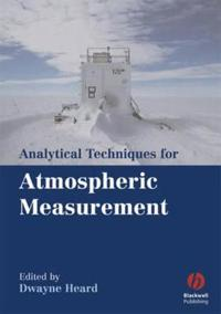 Analytical Techniques for Atmospheric Measurement