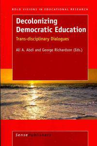 Decolonizing Democratic Education