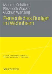 Pers nliches Budget Im Wohnheim