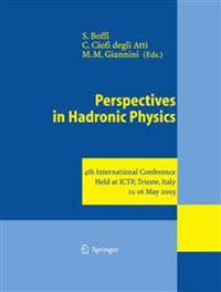 Perspectives in Hadronic Physics