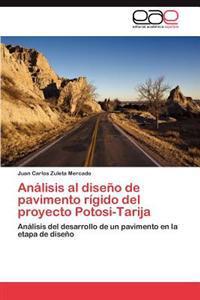 Analisis Al Diseno de Pavimento Rigido del Proyecto Potosi-Tarija