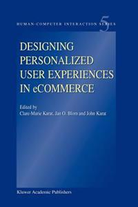 Designing Personalized User Experiences in Ecommerce