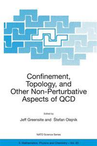 Confinement, Topology and Other Non-Pertubative Aspects of Qcd
