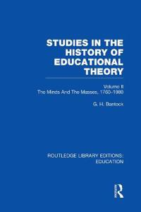 Studies in the History of Educational Theory