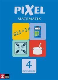 Pixel Matematik 4 Övningsbok