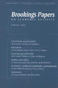 Brookings Papers on Economic Activity, Spring 2008