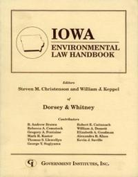 Iowa Environmental Law Handbook