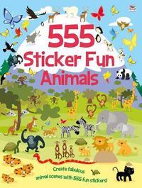 555 Sticker Fun  Animals