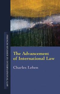 The Advancement of International Law