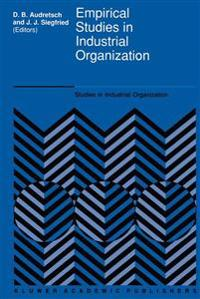 Empirical Studies in Industrial Organization