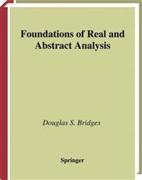 Foundations of Real and Abstract Analysis