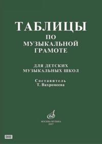 Tablitsy po muzykalnoj gramote: Dlja DMSh /Sost. T. Vakhromeeva