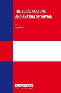 Legal Culture And System of Taiwan