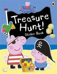 Peppa Pig: Treasure Hunt! Sticker Book