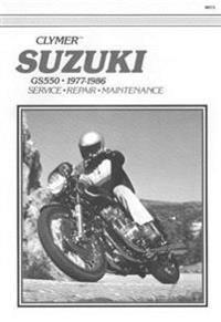 Suzuki Gs550 1977 1986 Service Repair Maintenance
