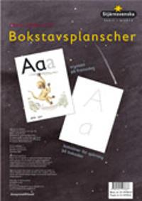 Stjärnsvenska Skriv från A till Ö Bokstavsplanscher -  pdf epub