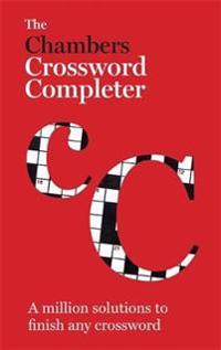 The Chambers Crossword Completer - New Edition