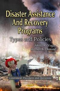 Disaster AssistanceRecovery Programs