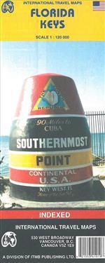 Florida Keys Travel Reference Map