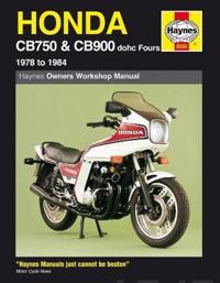Honda Owners Workshop Manual: Cb750 & Cb900 Dohc Fours 1978 to 1984