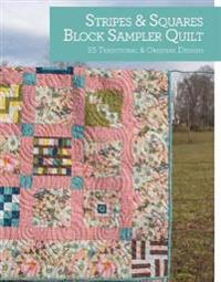 Stripes & Squares Block Sampler Quilt