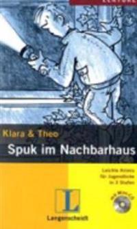Spuk im Nachbarhaus (Stufe 3) - Buch mit Mini-CD