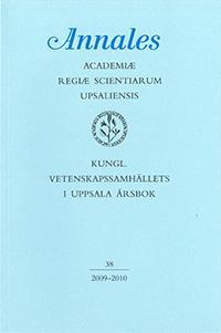 Kungl. Vetenskapssamhällets i Uppsala årsbok 38/2009-2010