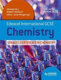 Edexcel International GCSE and Certificate Chemistry Student's Book & CD
