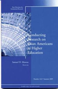 Conducting Research on Asian Americans in Higher Education: New Directions