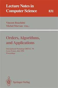 Orders, Algorithms and Applications