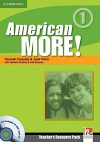 American More! Level 1 Teacher's Resource Pack + Testbuilder Cd-rom