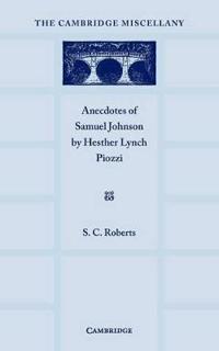 Anecdotes of Samuel Johnson