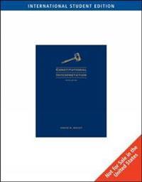 Constitutional Interpretation, International Edition