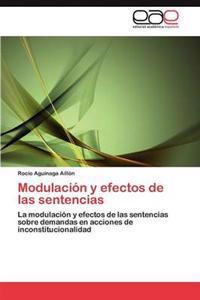 Modulacion y Efectos de Las Sentencias