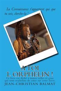A Toi L Orphelin !: La Connaissance T Appartient Qui Que Tu Sois, Cherche-La !