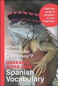 Harrap's Super-Mini Spanish Vocabulary
