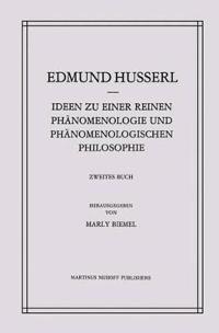 Ideen Zu Einer Reinen Phanomenologie Und Phanomenologischen Philosophie: Phanomenologische Untersuchungen Zur Konstitution