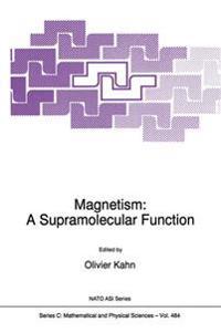 Magnetism: A Supramolecular Function