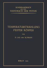 Temperaturstrahlung Fester K rper