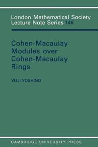 Cohen-Macaulay Modules over Cohen-Macaulay Rings