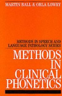 Methods in Clinical Phonetics